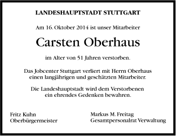Zur Gedenkseite von Carsten Oberhaus