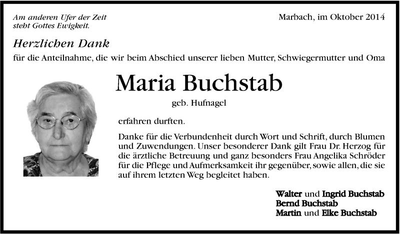 Marbacher zeitung trauer