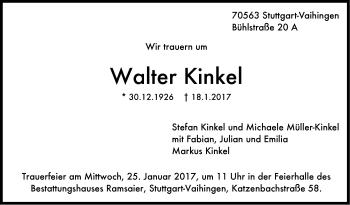 Zur Gedenkseite von Walter Kinkel